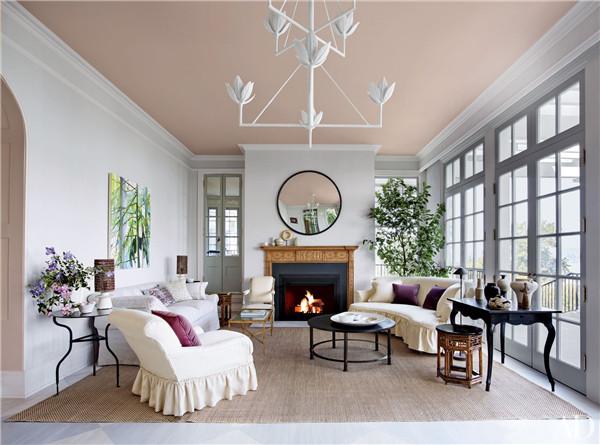 壁炉设计:国外28间带壁炉的客厅设计1.jpg