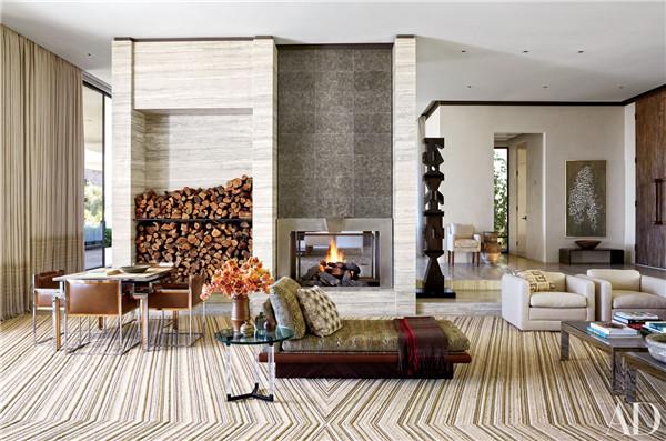 壁炉设计:国外28间带壁炉的客厅设计2.jpg