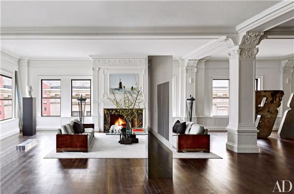 壁炉设计:国外28间带壁炉的客厅设计3.jpg