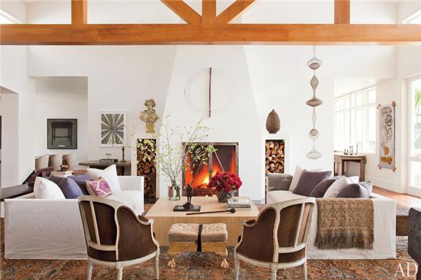 壁炉设计:国外28间带壁炉的客厅设计5.jpg