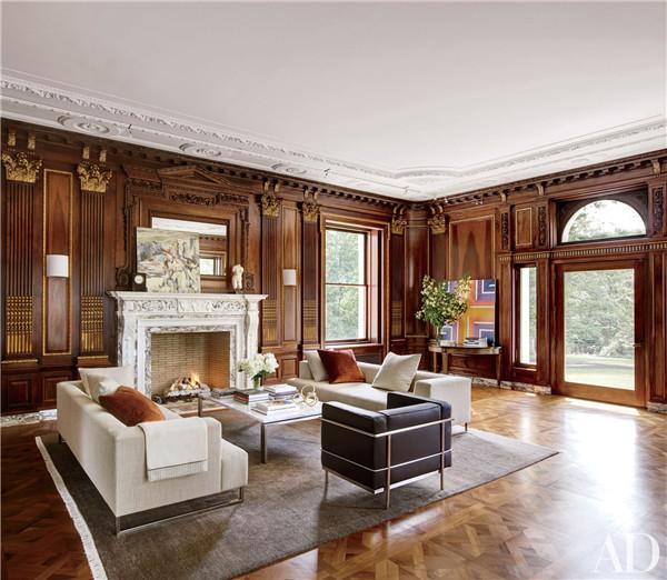 壁炉设计:国外28间带壁炉的客厅设计6.jpg