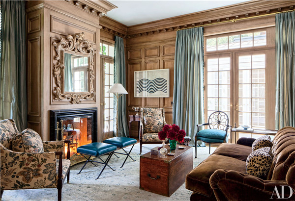 壁炉设计:国外28间带壁炉的客厅设计8.jpg