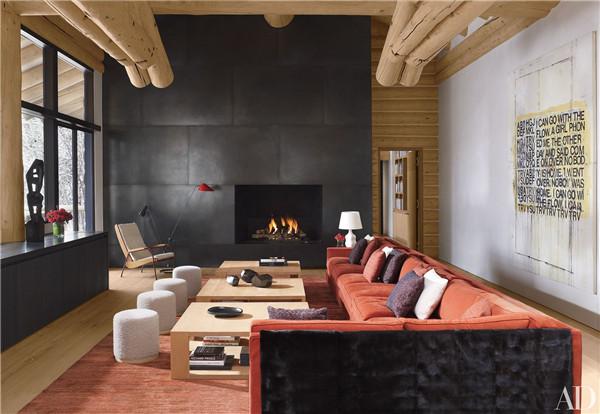 壁炉设计:国外28间带壁炉的客厅设计10.jpg