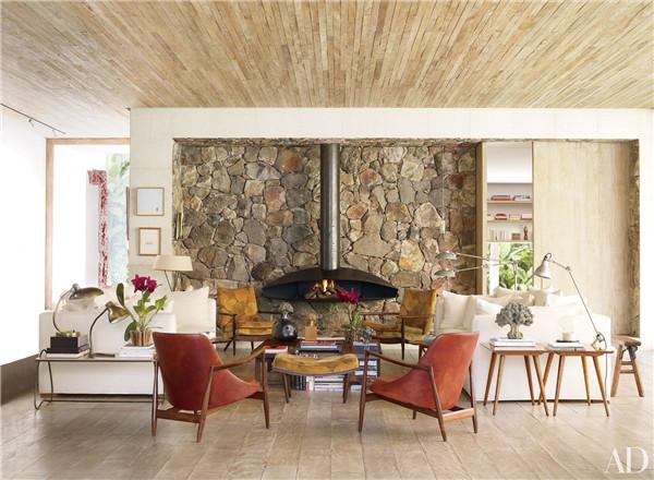 壁炉设计:国外28间带壁炉的客厅设计11.jpg