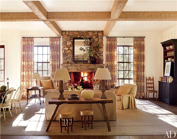 壁炉设计:国外28间带壁炉的客厅设计12.jpg