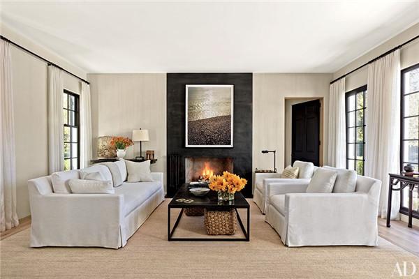 壁炉设计:国外28间带壁炉的客厅设计14.jpg