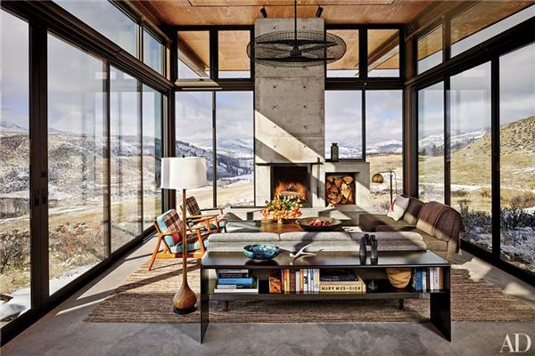 壁炉设计:国外28间带壁炉的客厅设计18.jpg
