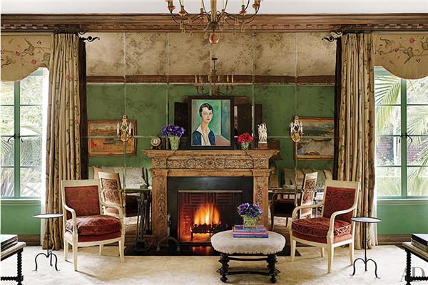 壁炉设计:国外28间带壁炉的客厅设计25.jpg