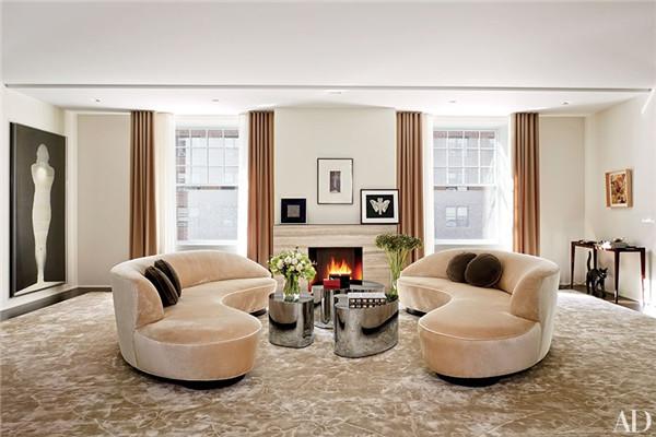 壁炉设计:国外28间带壁炉的客厅设计27.jpg