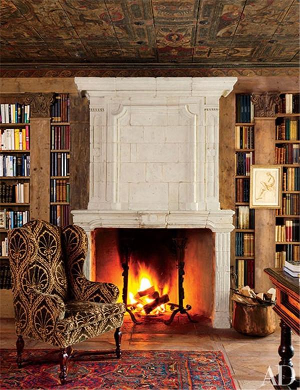 壁炉设计:国外28间带壁炉的客厅设计28.jpg