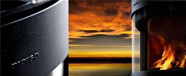 丹麦真火壁炉Morso 5660,墙壁上的风景.jpg