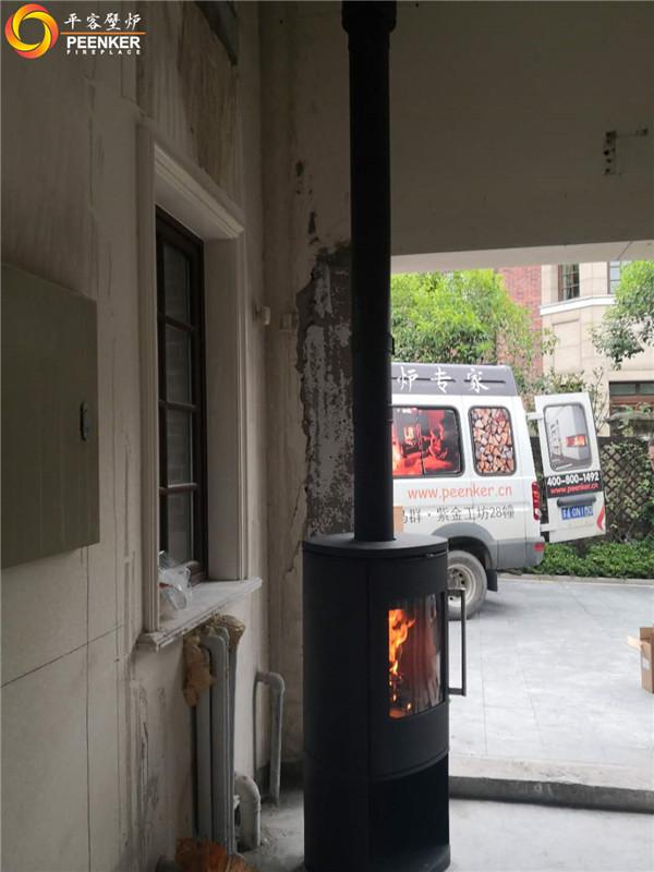 平客壁炉上海红庐雅颂别墅壁炉丹麦morso 8893安装.jpg