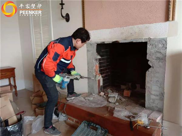 南京边城别墅丹麦morso嵌入式壁炉S80-90安装.jpg