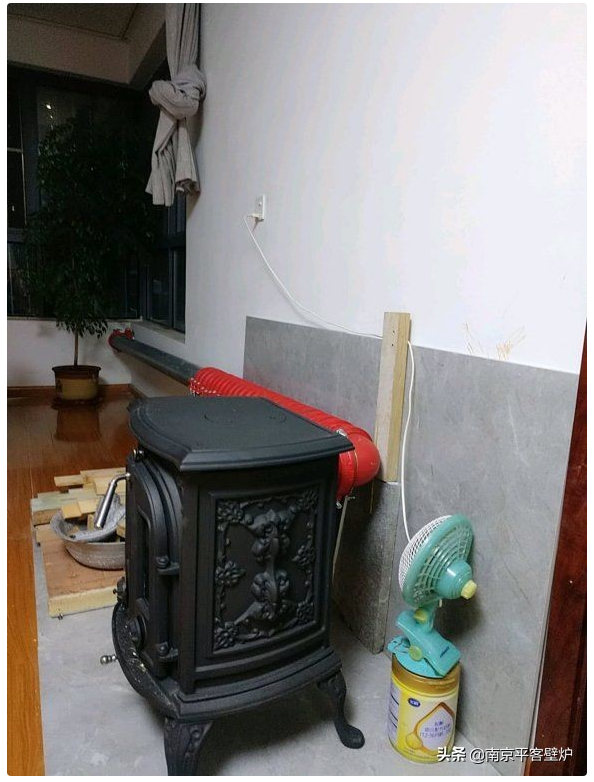 壁炉倒烟的5点原因之安装不规范.png